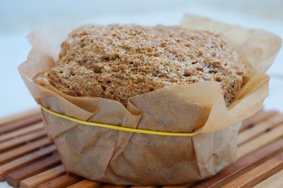Хлеб в микроволновке по Дюкану