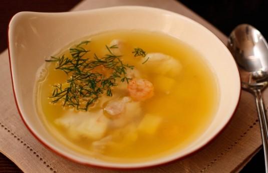 Форелевый суп по Дюкану