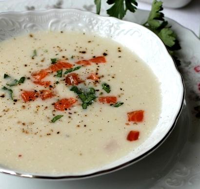 Французский суп-пюре из курицы